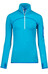 Ortovox W's Merino Fleece Zip Neck (MI) Blue Lagoon